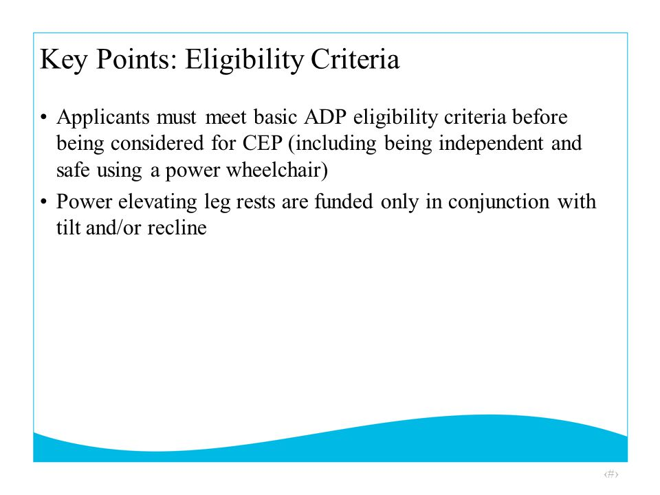 adp application form for mobility devices