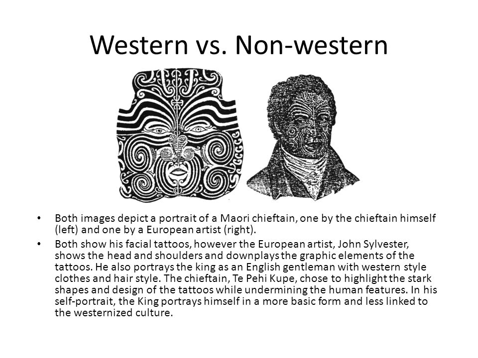 compare western and non western art Ferent ways of thinking about and looking at western and non-western art in  general  for information about art (87 percent), compare and contrast art works.