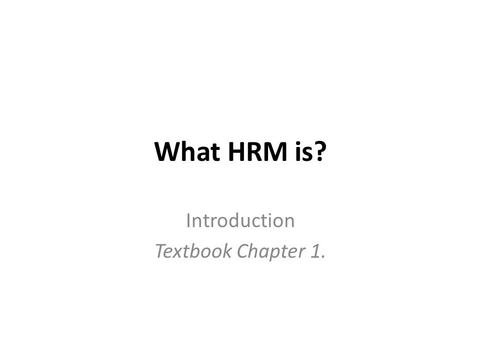 hrm chapter 1 This feature is not available right now please try again later.