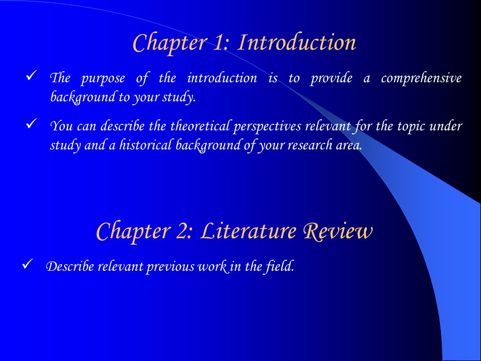 Introduction review article related literature