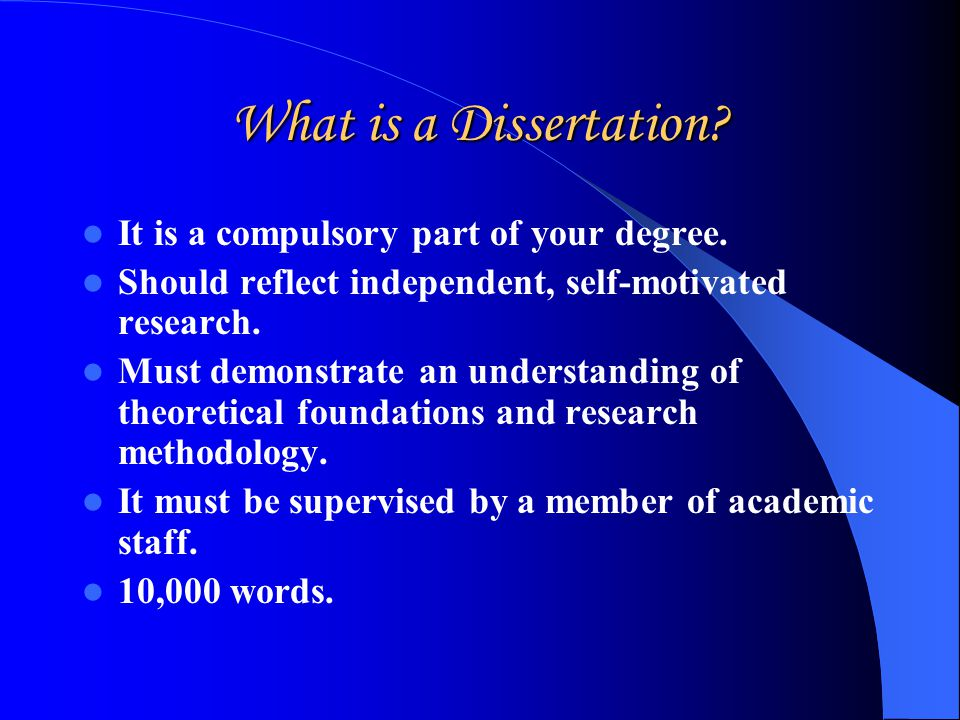 what is a methodology in a dissertation