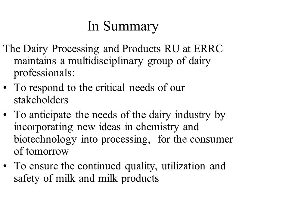 processing of milk in dairy industry pdf