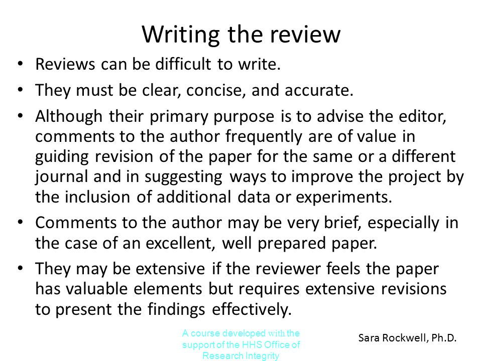 elements of research paper revision Back to title page/table of contents 10 a (4) elements of a good writing style style refers to the way we express ourselves in writing while there is no one standard style that every writer must follow, there are two key elements in an effective writing style.