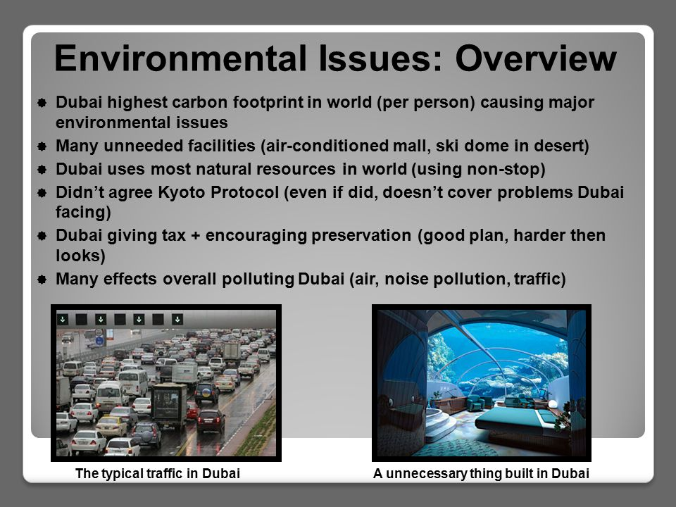 Dubai Natural Resources