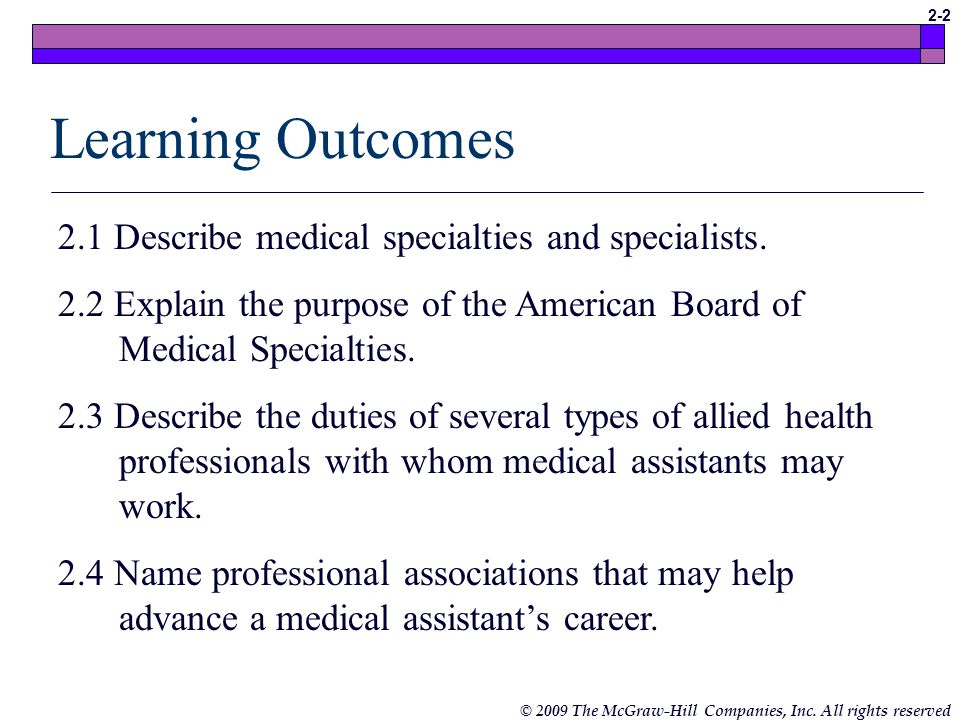 types of medical assistants