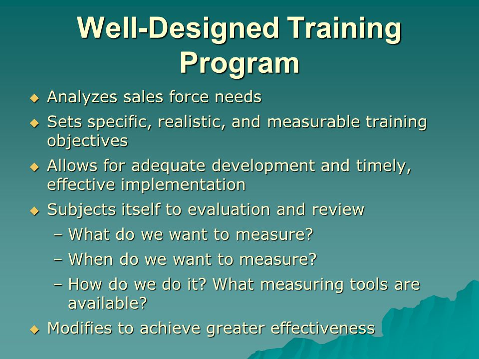 Sales Training: Objectives, Techniques, And Evaluation - Ppt Video
