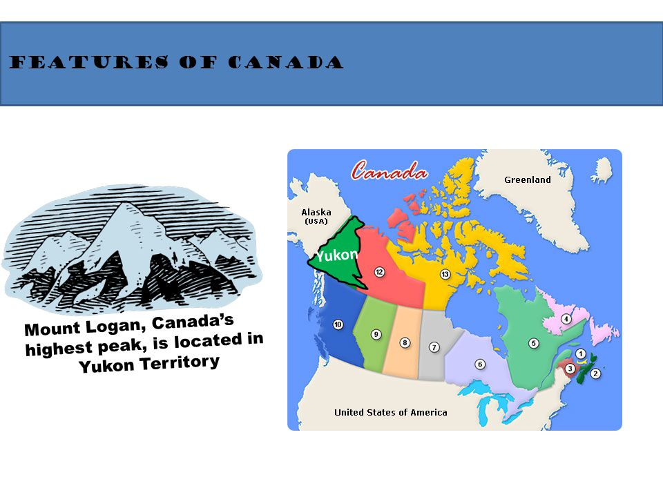 North America Geography And Physical Features Ppt Video Online - Physical features of canada and the united states