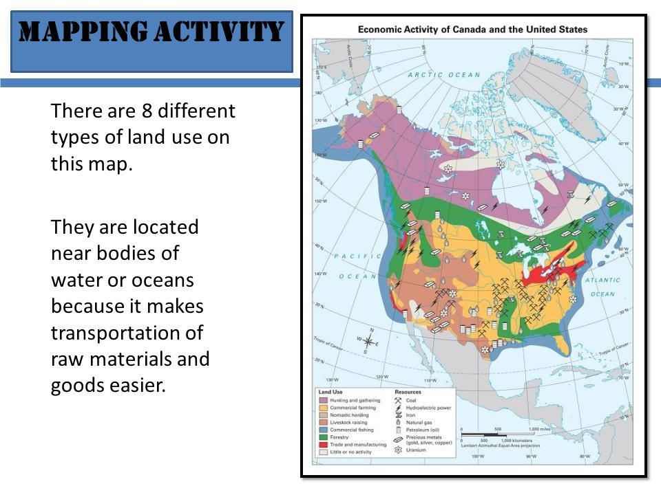 North America Geography And Physical Features Ppt Video Online - Bodies of water map us