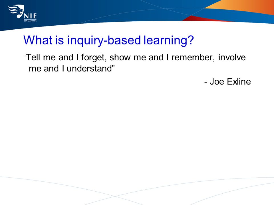 what is educational inquiry The current system of education is teacher centered, with the teacher focused on giving out information about what is known  inquiry classrooms are open systems where students are.