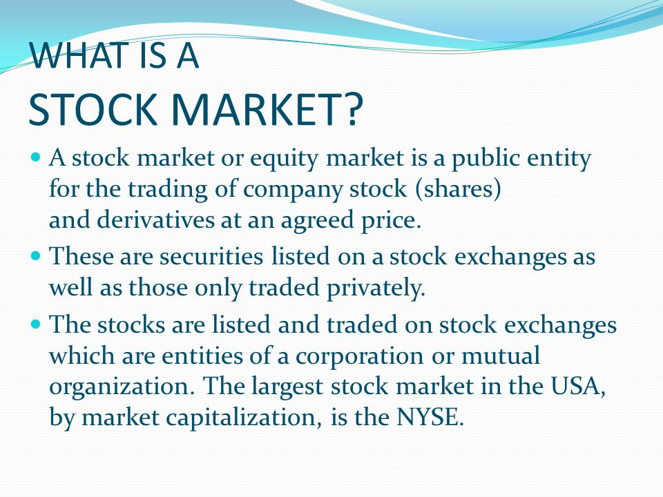 Market Value Per Share Definition