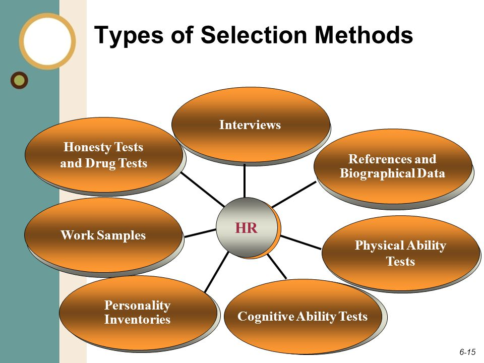 types of selection tests in hrm pdf