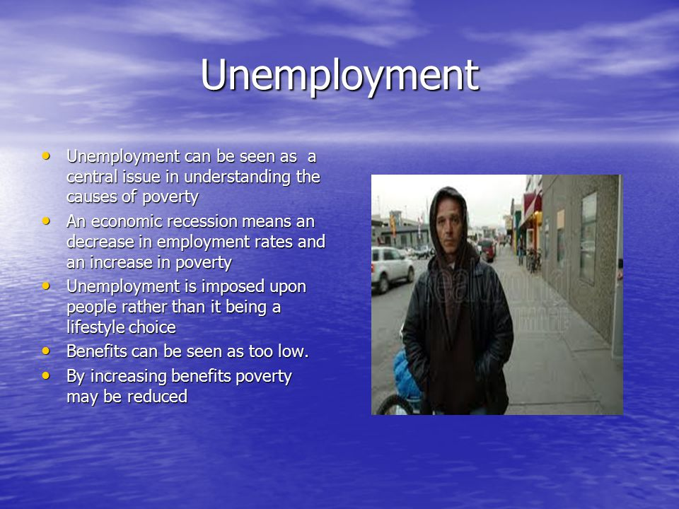 theories of unemployment essay A number of different models have been used in order to explain the links between unemployment and ill-health  mainly based on sociological theories but modelled .