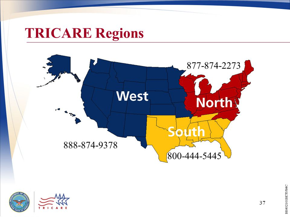 TRICARE Your Military Health Plan - ppt download on map of delta dental regions, map of dod regions, map of ohio medicaid regions, map of health regions, map of medicare regions, map of cigna healthcare regions, map of aetna regions,