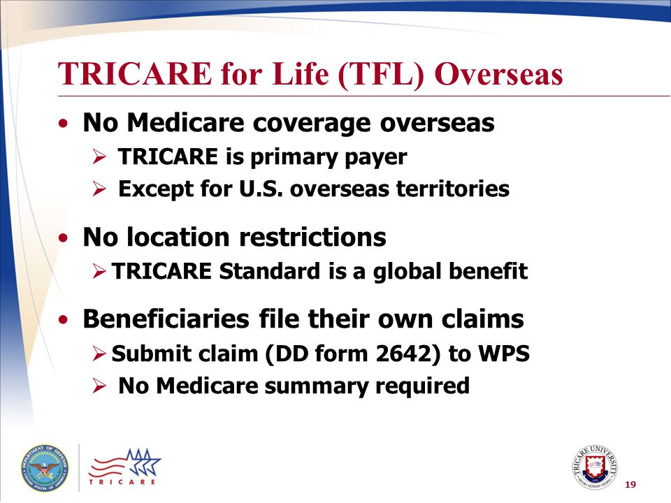TRICARE for Life (TFL) Overseas