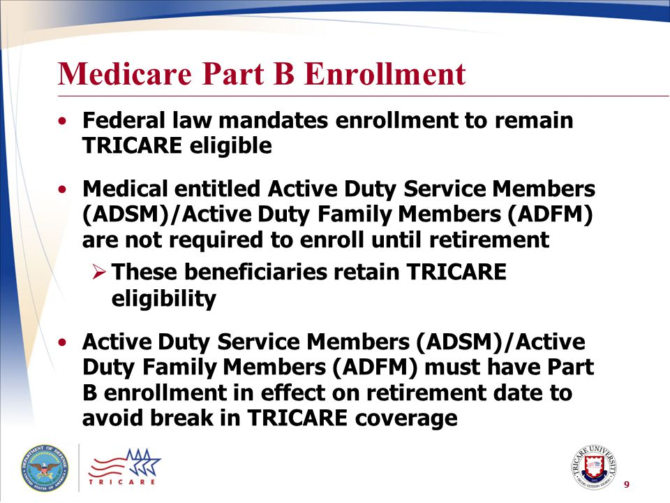 Medicare Part B Enrollment