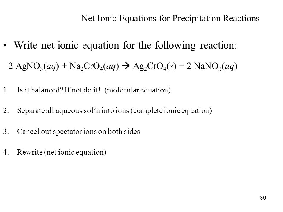 Write The Net Ionic Equation For The Following Reaction Jennarocca – Net Ionic Equations Worksheet