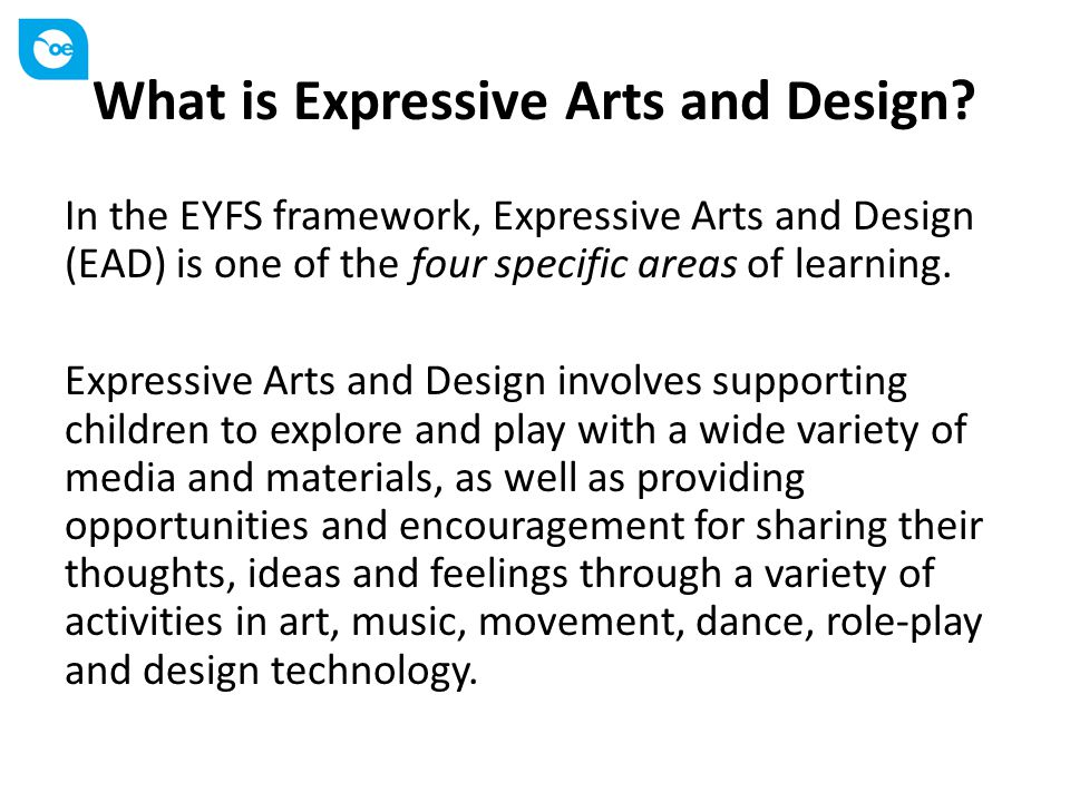 What is Expressive Arts and Design