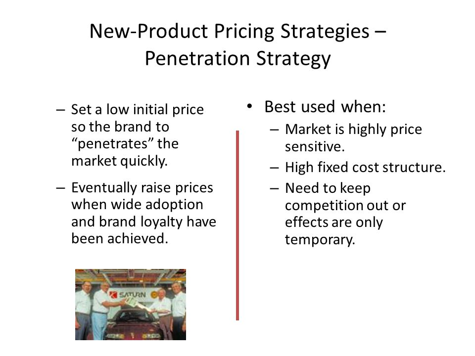 Know penetration price strategy think, that