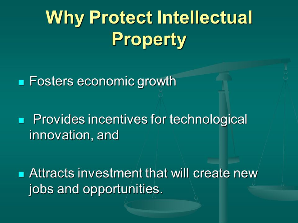 Intellectual Property Rights In Agriculture Ppt