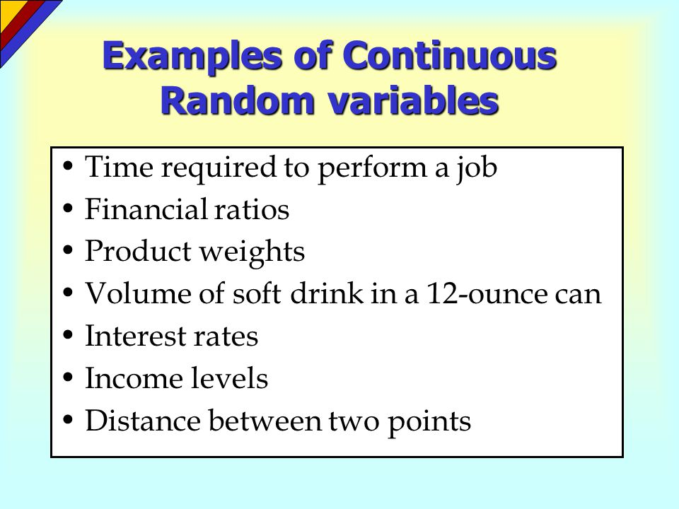 Continuous Probability Distributions Ppt Video Online Download