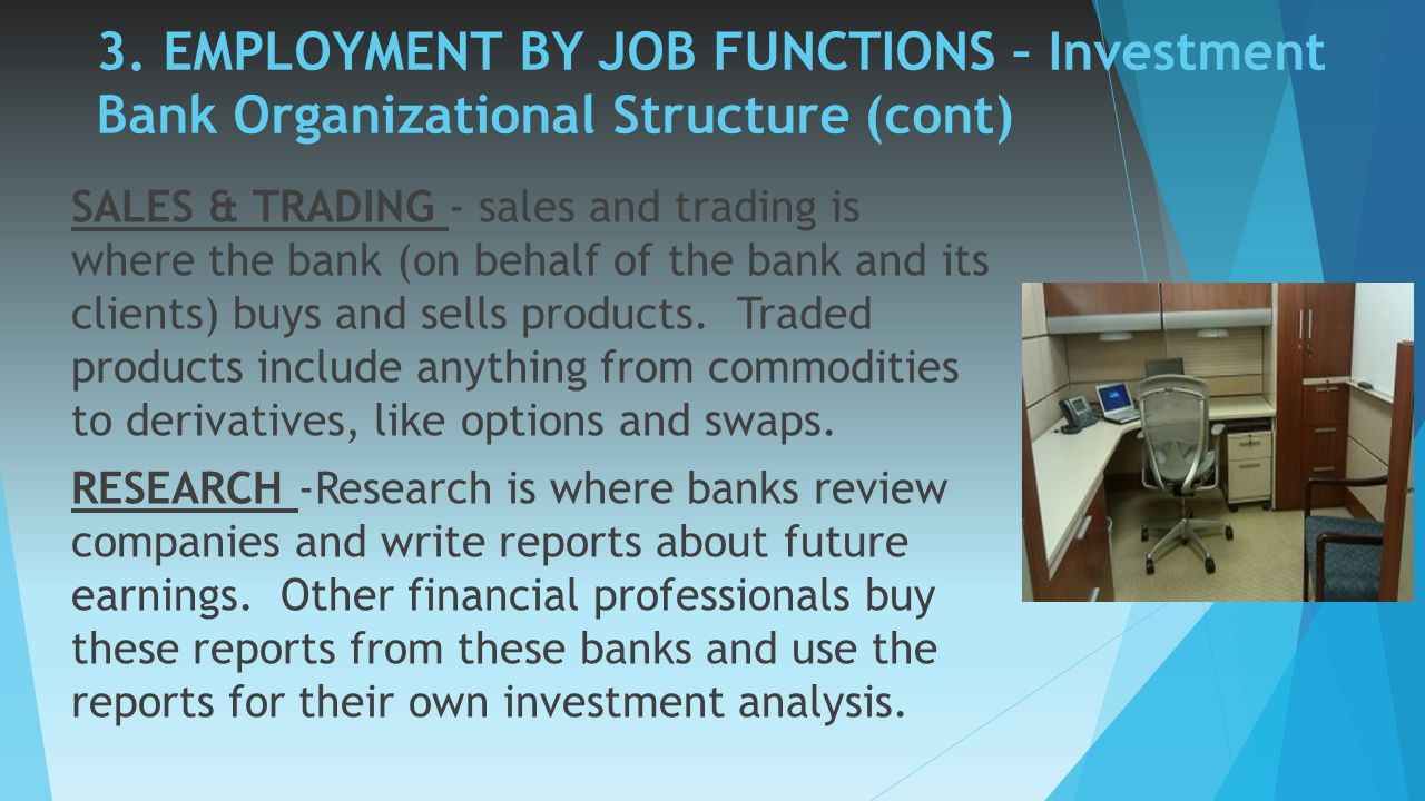 internship in an investment bank There's an art to getting on investment banks' most wanted lists.