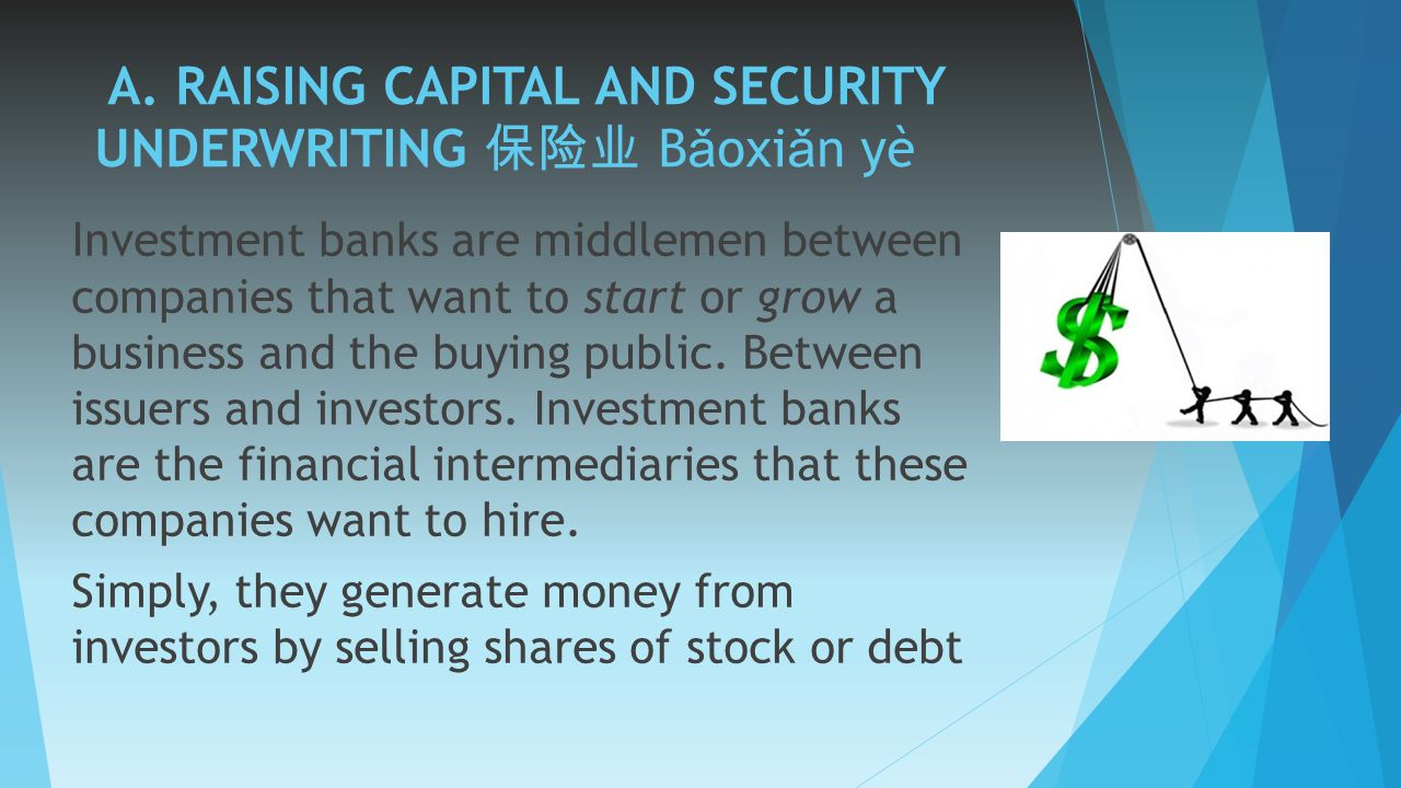 INVESTMENT BANKING LESSON 1 INTRODUCTION - ppt video ...