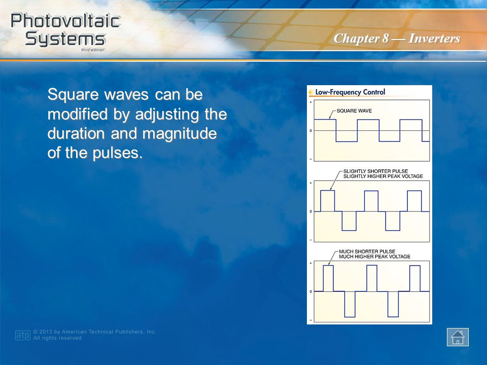 Square waves can be modified by adjusting the duration and magnitude of the pulses.