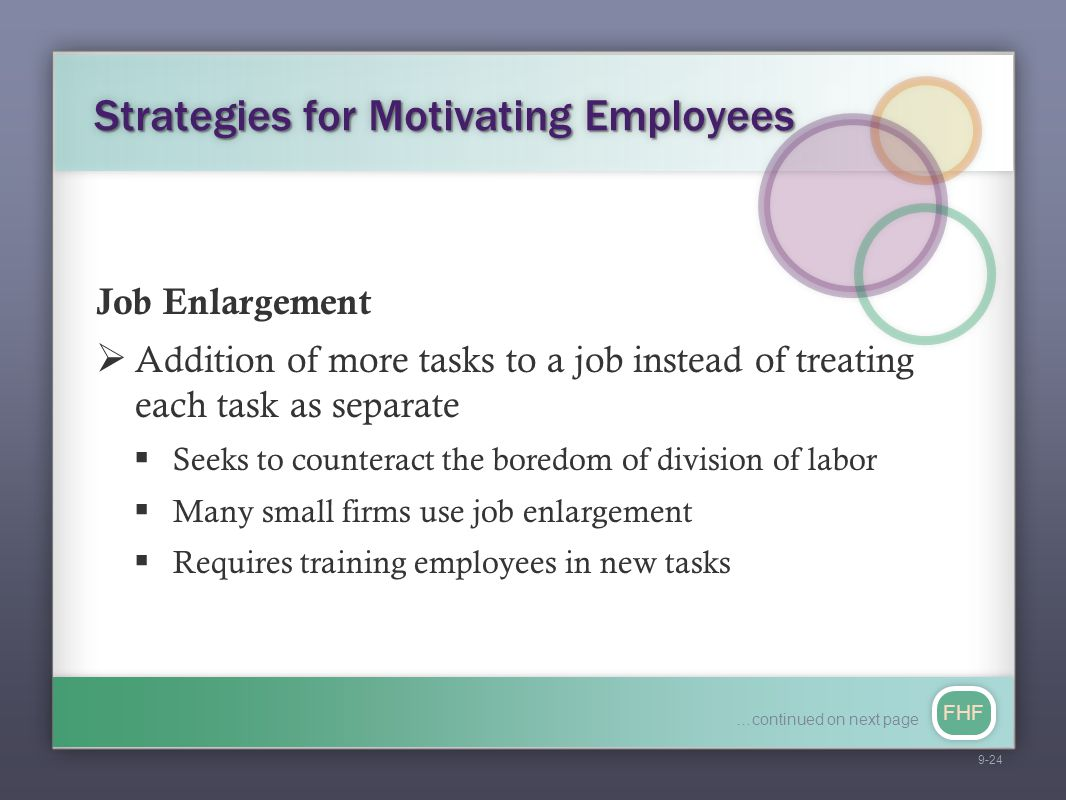 Strategies for Motivating Employees
