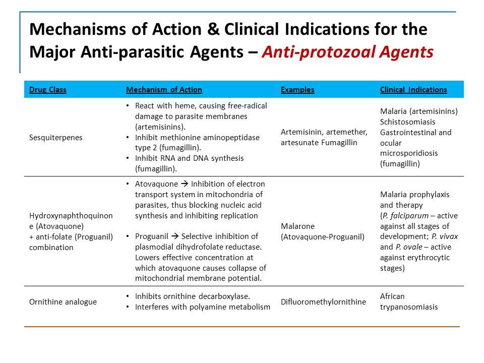 Laboratory Diagnosis & Treatment of Parasitic Diseases