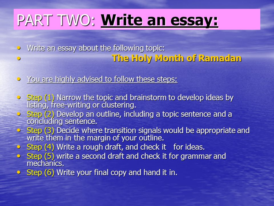 essay outlining an essay is longer and more complex than a  part two write an essay