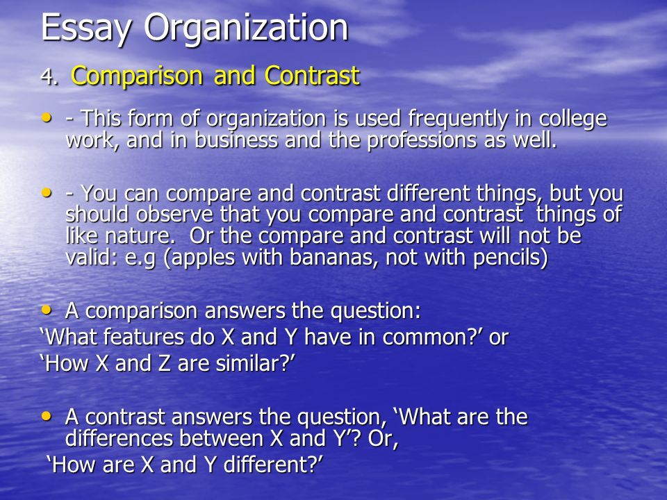 compare and contrast form structure and imagery used sonne Compare and contrast essay videos on essay writing and check out our other essay structure, tone, language use, imagery and.