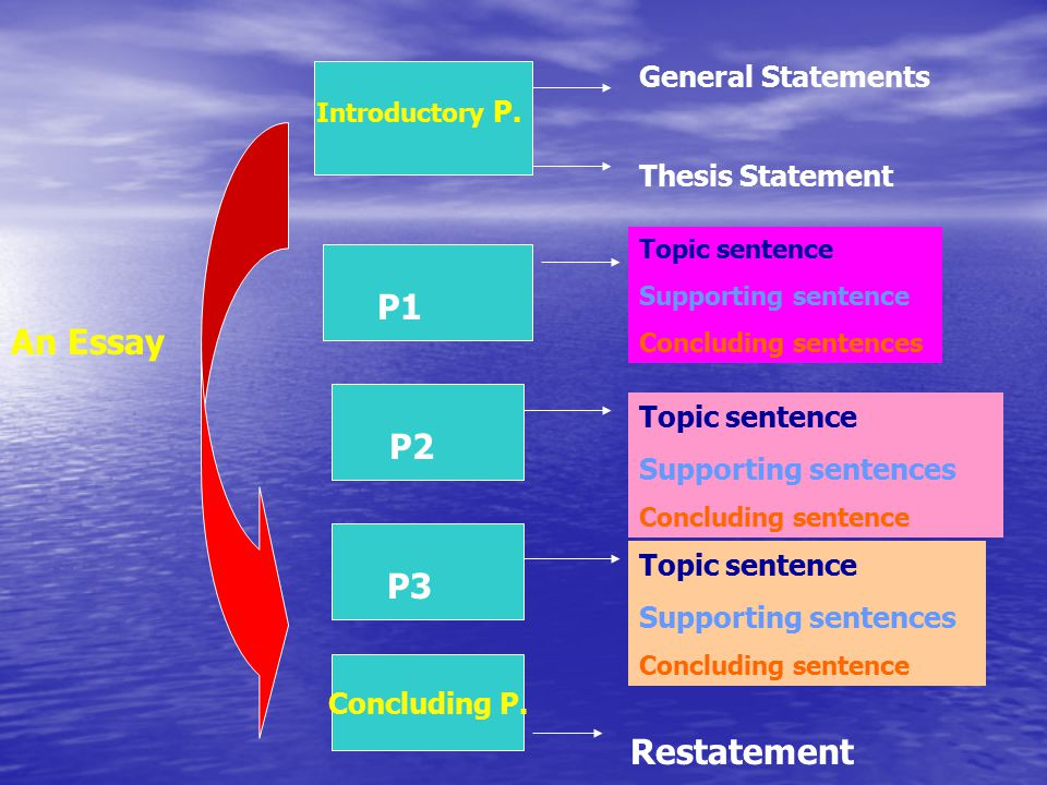 general introductory statement essay Writing introductory paragraphs for essays 1 writing introductory paragraphs for essays the presentation examines the essential characteristics of introductory paragraphs don't refer directly to your essay with statements like in this essay.