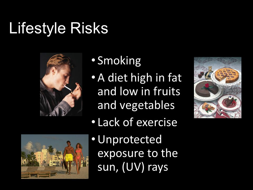Lifestyle Risks Smoking