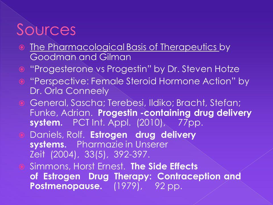 Steroids: Estrogens, Synthetic Estrogens, Estrogen