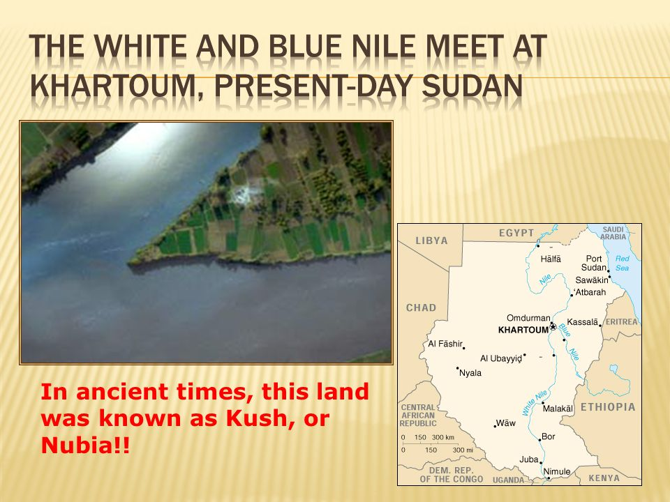 the blue nile and white meet where your mouth