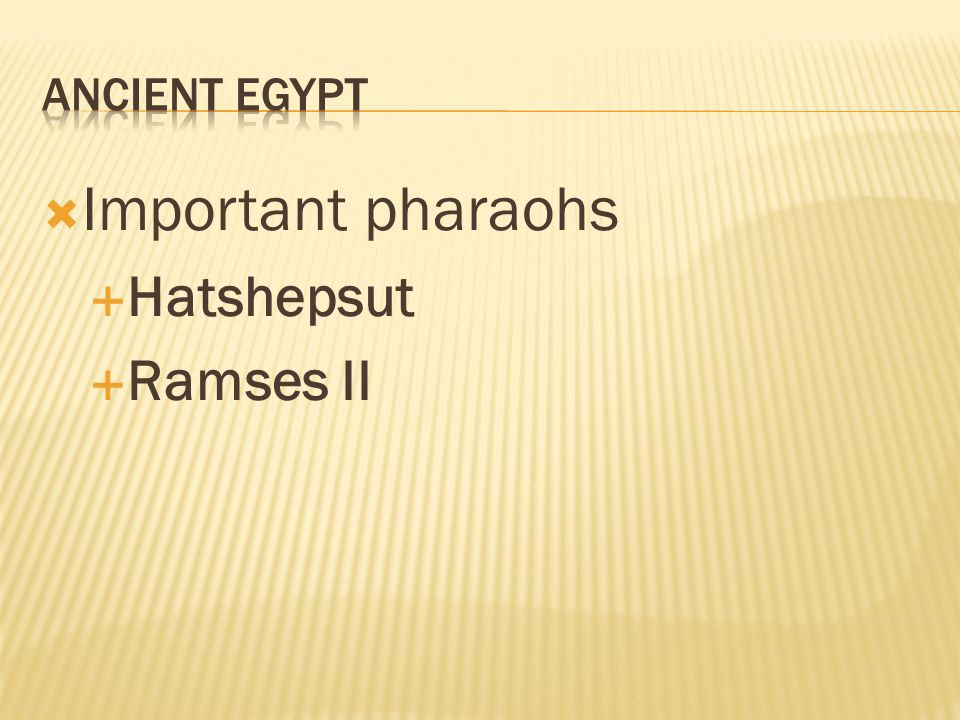 hatshepsut vs ramses ii Hatshepsut the woman who was king egypt 1473-1458 bc skip to obliterated her memory so that later pharaohs such as ramses ii and cleopatra would have been ignorant of it is possible that thutmose ii realized hatshepsut was ambitious for power because he proclaimed the young.