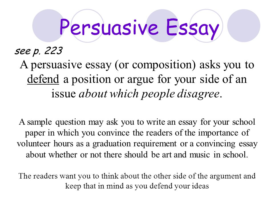 session writing conventions and writing strategies ppt  a persuasive essay or composition asks you to