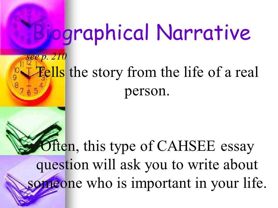 essay of cahsee