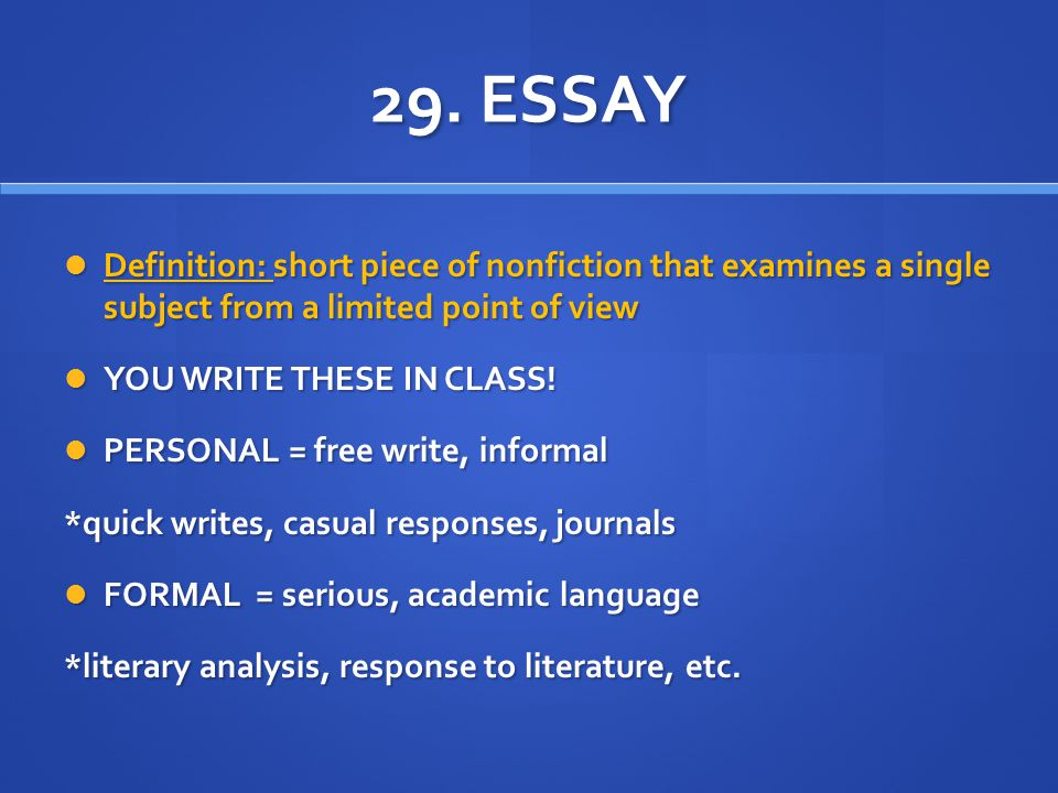 qualify definition essay This essay has been submitted by a law student this is not an example of the work written by our professional essay writers defination of merchantable quality.