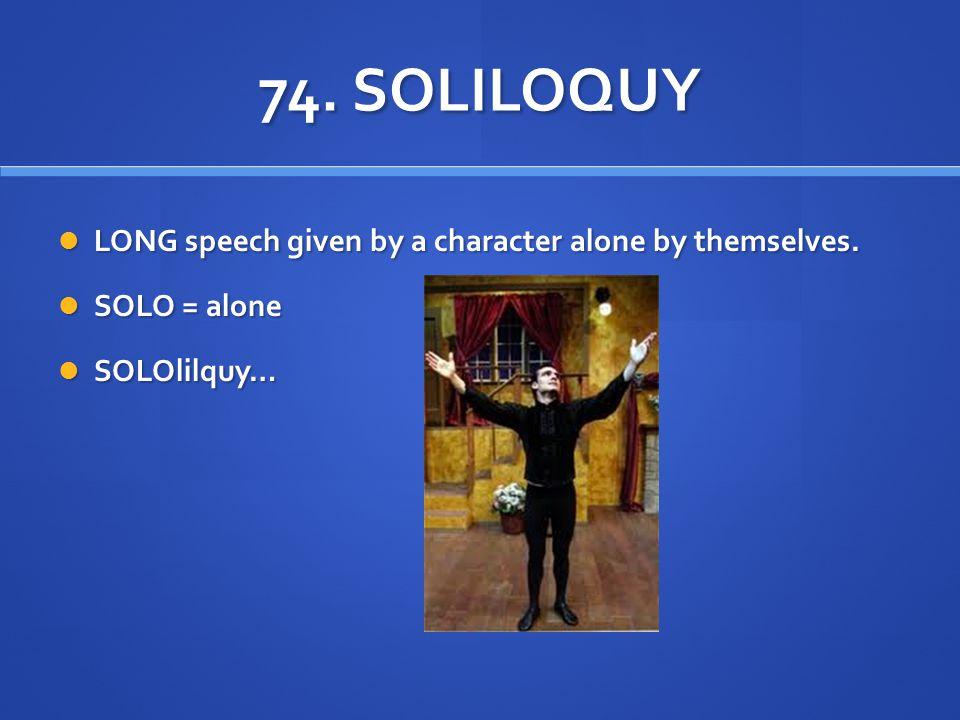 Image Result For Soliloquy Definitiona