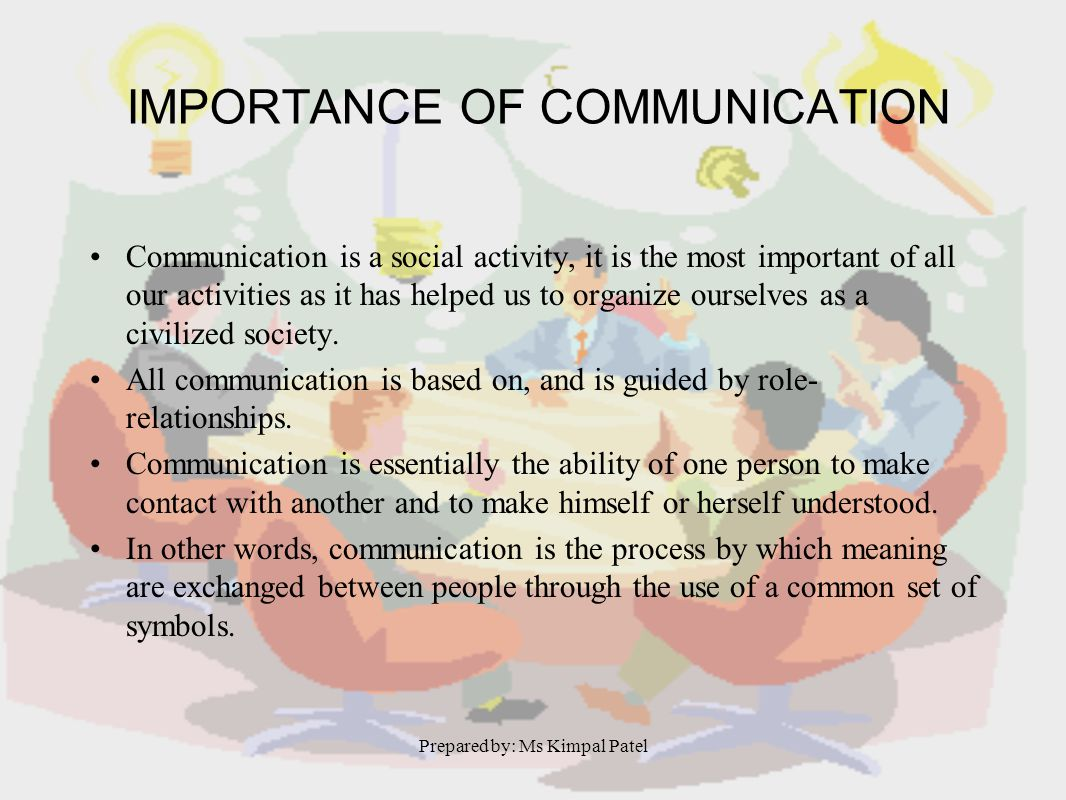 role of communication in society Communication – role in society definition - communication (from latin communis, meaning to share) is the activity of conveying information through t.