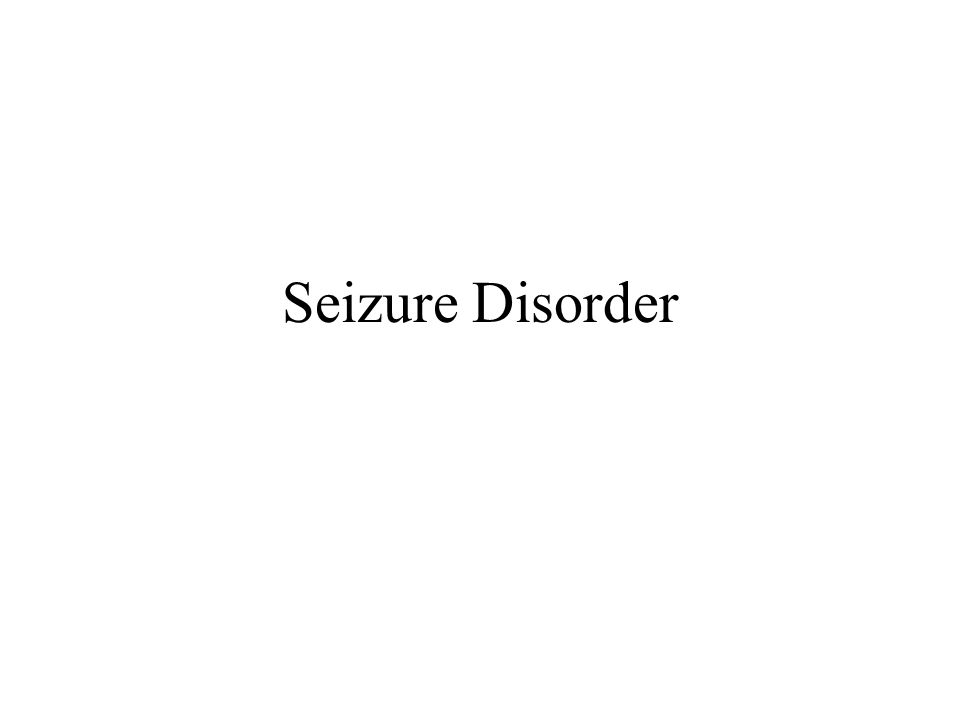 an analysis of a chronic disorder characterized by recurrent seizures