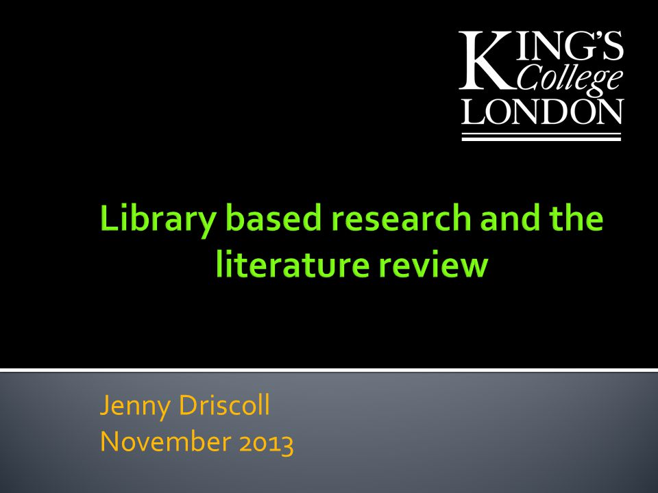 literature based research papers