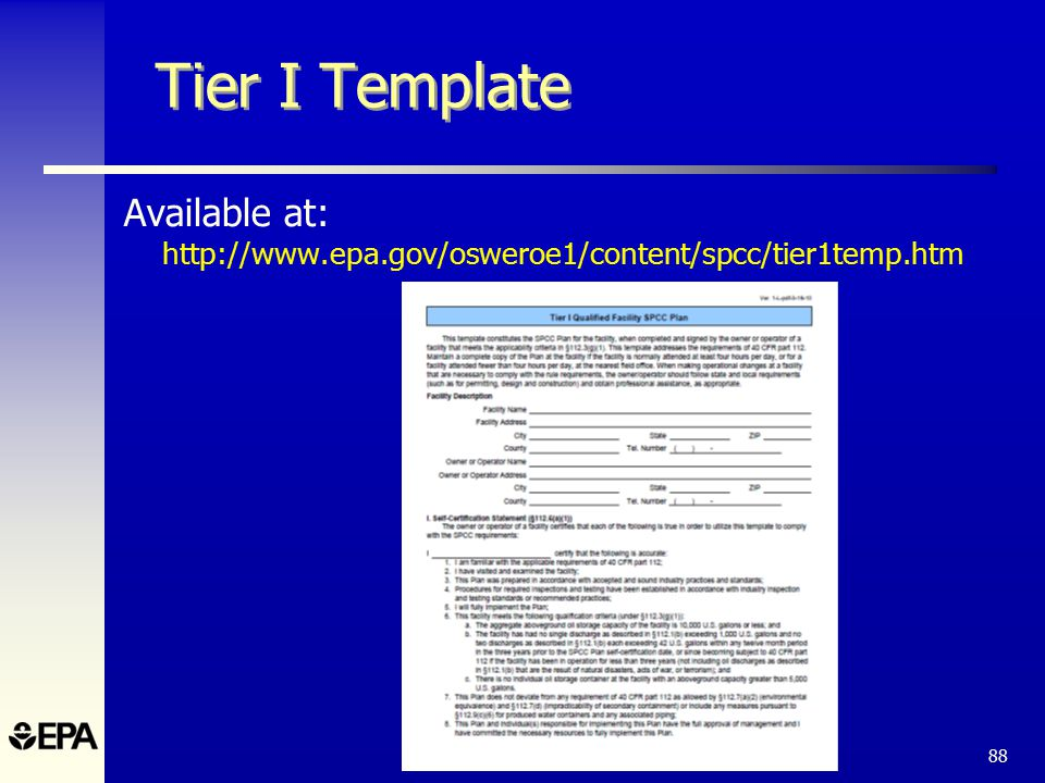 The spcc rule and recent amendments ppt download 88 tier i template pronofoot35fo Choice Image