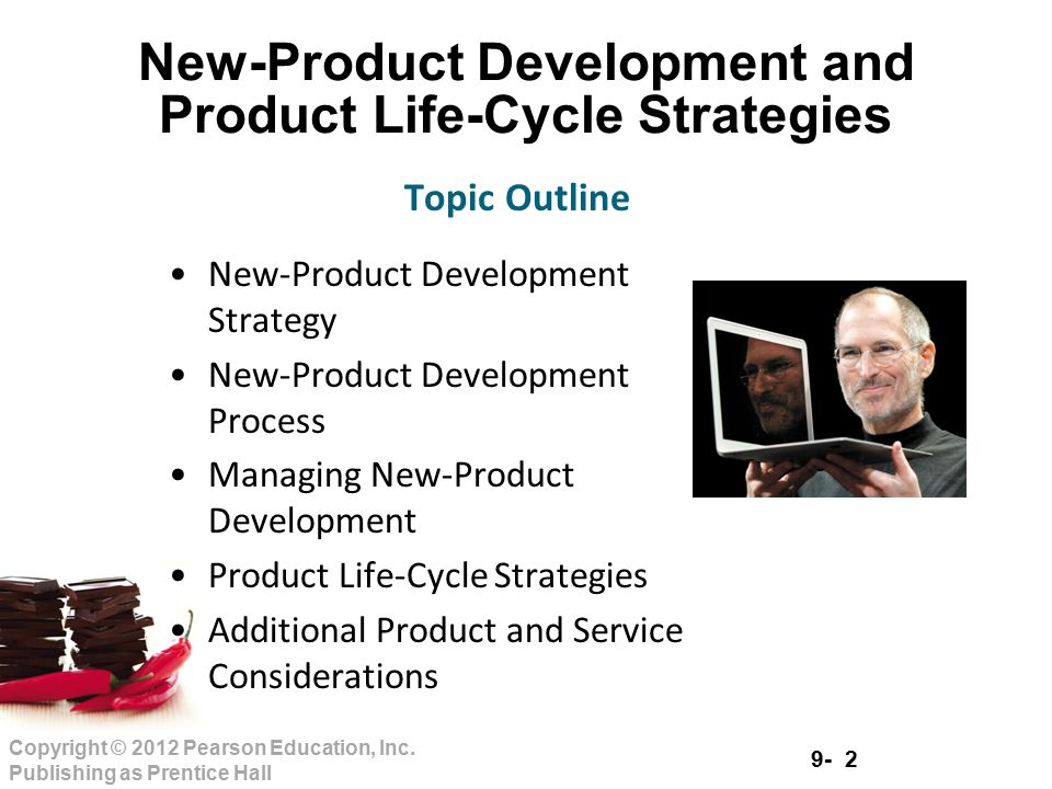 New product development and product life cycle strategies for Product development services
