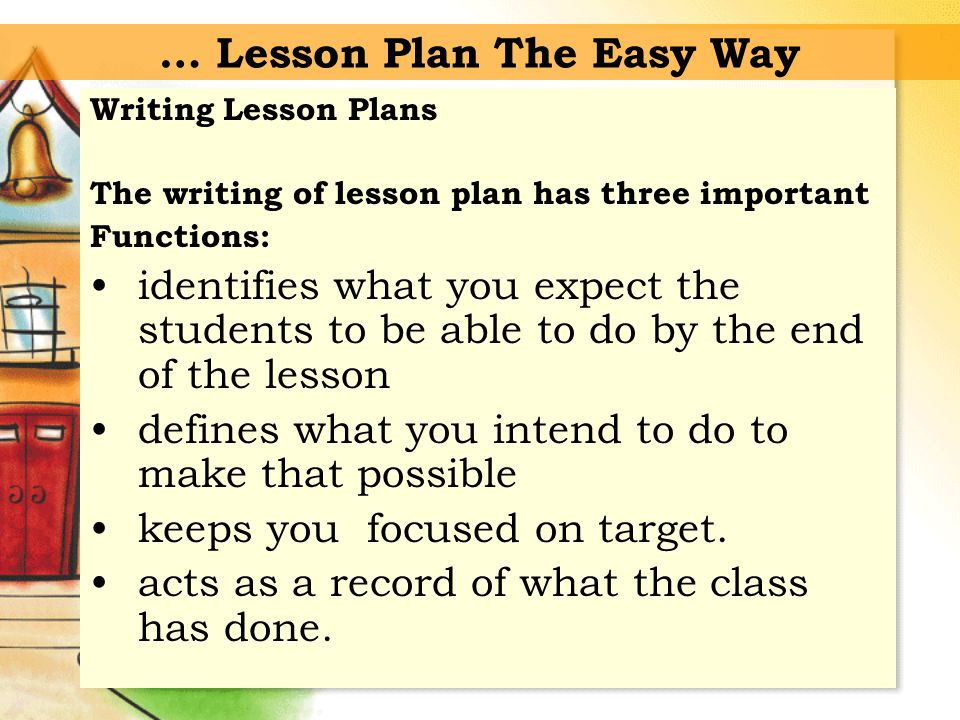 By Lesson Planning Aneela Israr. By Lesson Planning Aneela Israr