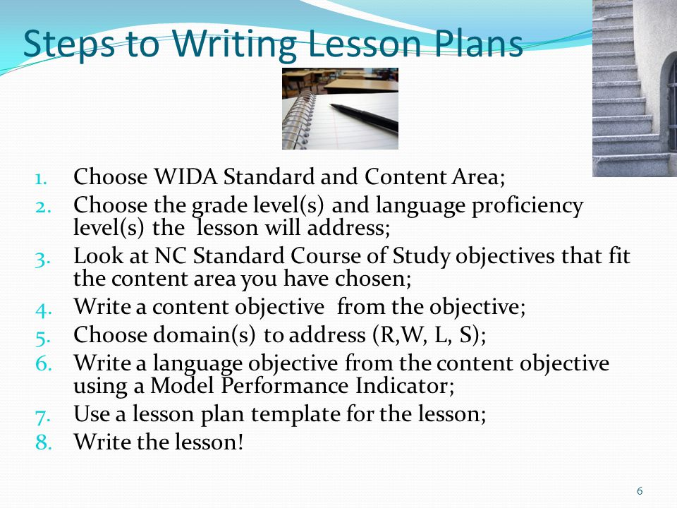 Lesson Planning For Ells Using The WidaElp Standards  Ppt Video