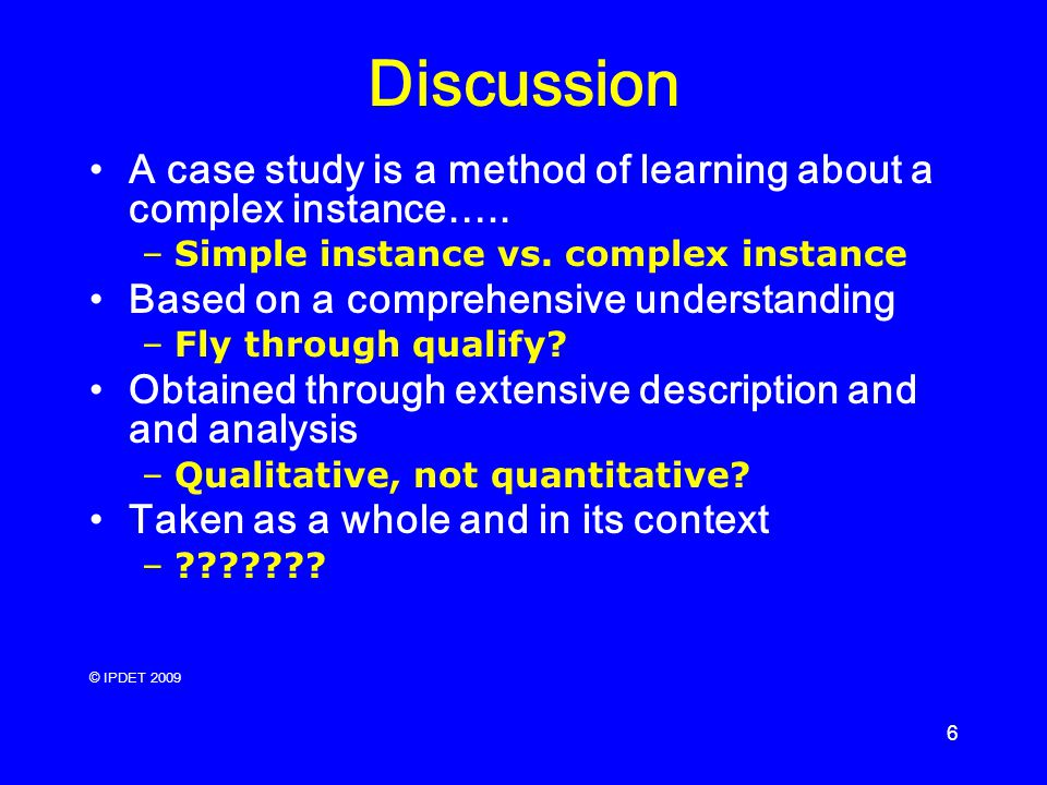 Three Approaches to Case Study Methods in Education: Yin ...