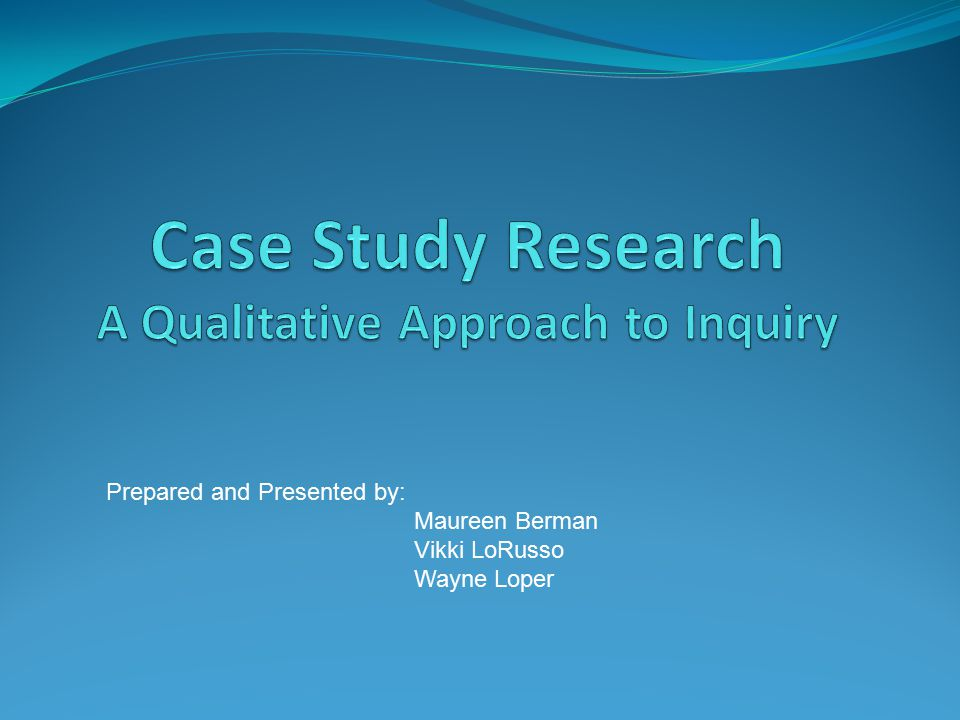 Case Study Research in Education  A Qualitative Approach  The