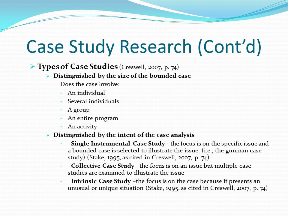 case study in qualitative research pdf